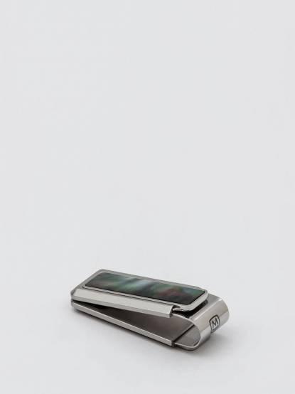 M-CLIP 鈔票夾 - 限量天然黑色珍珠貝