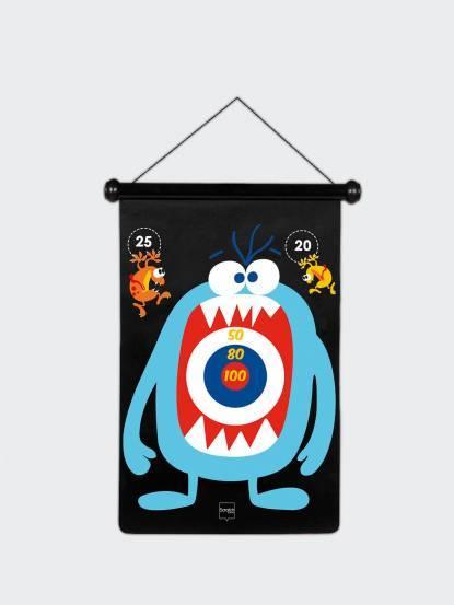 Scratch EUROPE 磁性飛鏢 - 怪獸家族