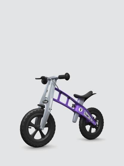 FirstBIKE 兒童滑步車 / 平衡車 - 越野薰衣草紫 / 附煞車