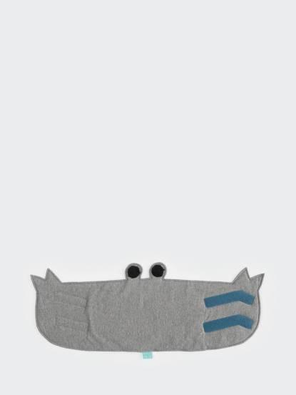 CLARECHEN 螃蟹防涼肚圍 - 簡約灰 / 2 - 4 歲