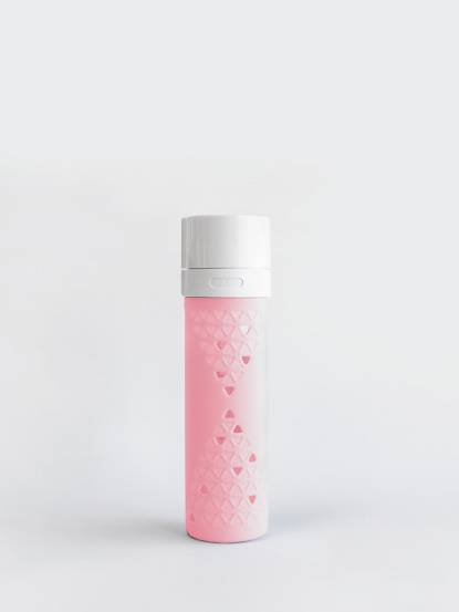 SANS 真空果汁瓶 480ml - 粉紅色