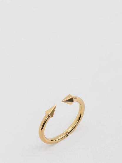 VITA FEDE TITAN 金色圓錐造型硬式手環