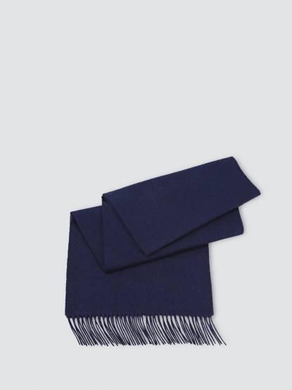SHOKAY 絲原圍巾 - 藏藍