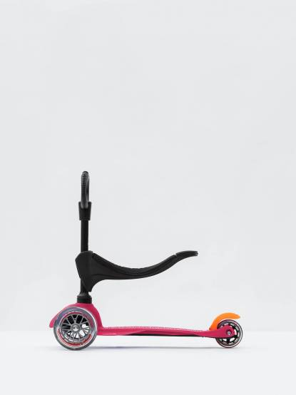 Micro Scooter Micro Mini 3 in 1 兒童滑板車滑步車 - 粉紅