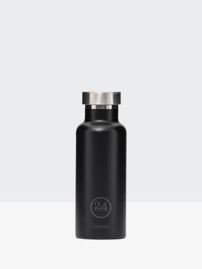 24Bottles 雙層保溫瓶 500ml - 紳士黑