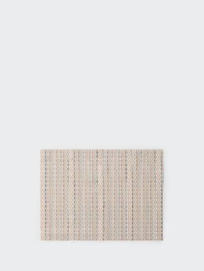 chilewich chilewich 餐墊 矩形 Wicker - 糖果粉彩