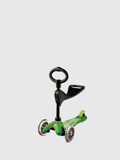 Micro Scooter Mini Micro 3in1 Deluxe 奢華版 - 綠色