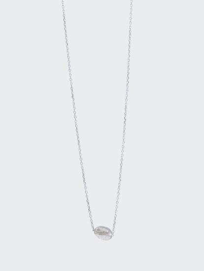 Lélim Jewelry 項鍊 SILVER MONO COLDMETE NECKLACE