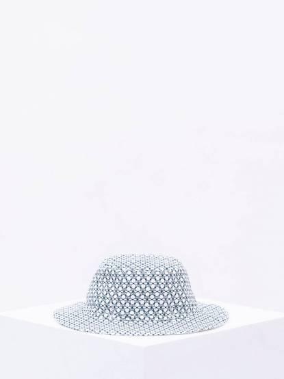 Ki ET LA Kapel 凱貝拉幼兒遮陽帽 - 幾何圖形