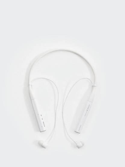 Partron Croise.R 無線藍芽頸掛式耳機 - 珍珠白