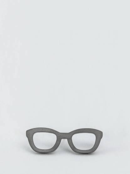 Würkin Stiffs 童趣不鏽鋼胸針 - 眼鏡