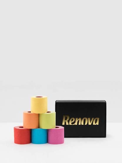 Renova 六入繽紛彩虹禮盒
