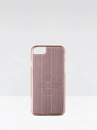 KENZO 鋁合金材質虎頭圖案 iPhone 7 手機殼 - 玫瑰金
