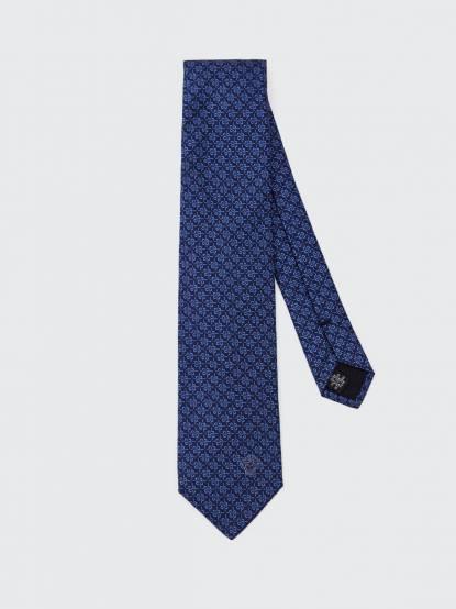VERSACE 藍色中國風領帶