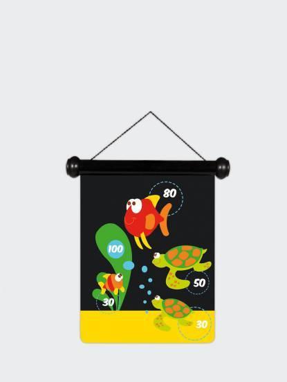 Scratch EUROPE 迷你磁性飛鏢 - 海底世界