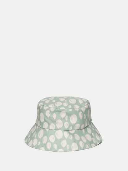 trixie 有機棉遮陽帽 - 薄荷氣球