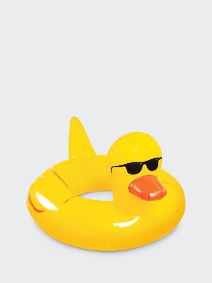 BIGMOUTH 黃色小鴨游泳圈