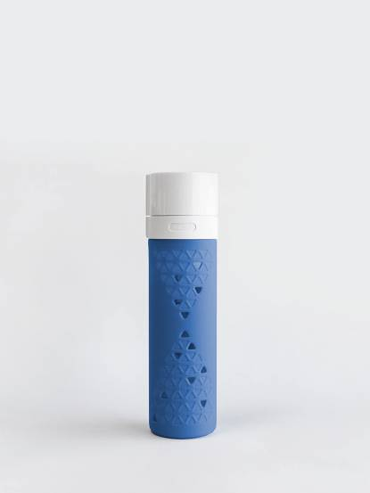 SANS 真空果汁瓶 480ml - 藍梅藍