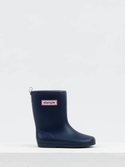 stample 日本製兒童雨鞋 - 海軍藍