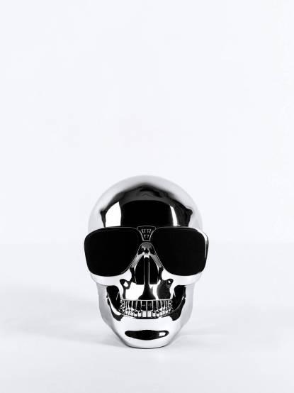 Jarre AeroSkull HD Silver Chrome 無線藍牙喇叭 - 亮銀