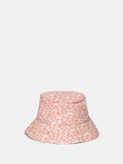 trixie 有機棉遮陽帽 - 莓果奶昔