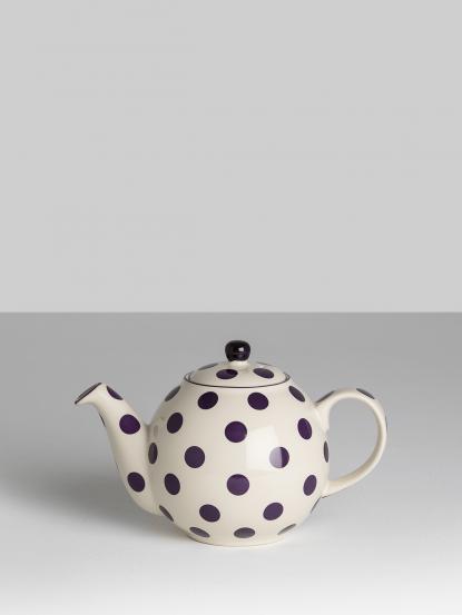 dexam 英國倫敦陶瓷四杯壺 - 環球系列 - 紫點