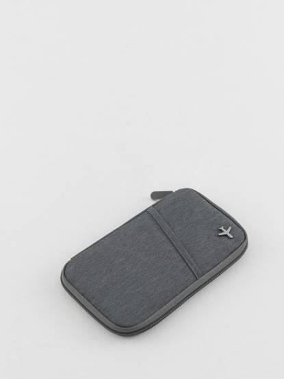 TROIKA RFID 屏障護照夾 - 灰