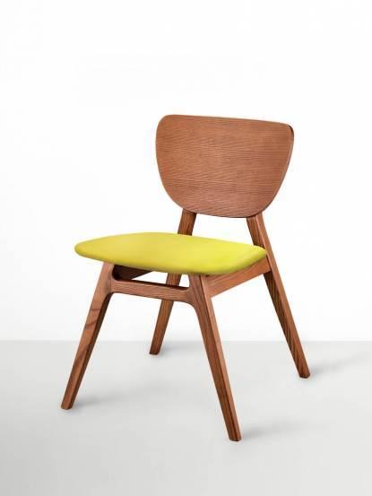 viithe 斐特餐椅(皮革版)- 肉桂色