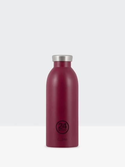 24Bottles Clima 不銹鋼雙層保溫瓶 500ml -  酒釀紅