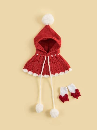 日安朵朵 女嬰配件禮盒 - 小紅帽