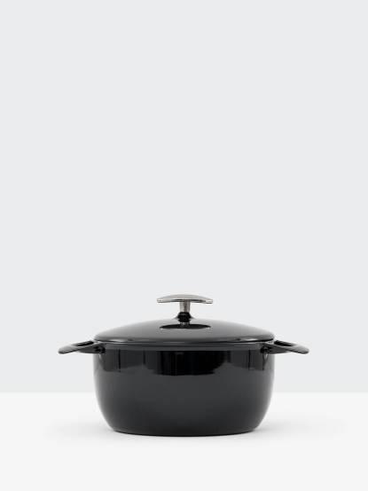 UNILLOY 世界極輕琺瑯鑄鐵鍋 - 22cm / 海軍藍