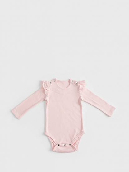 baby baby cool 立體荷葉 - 粉