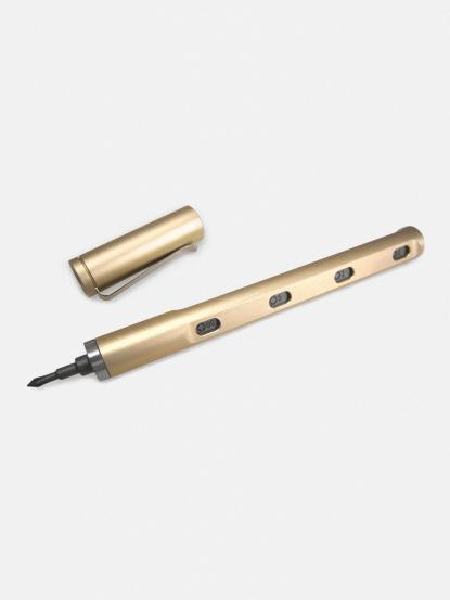 mininch Tool Pen Mini 工具筆 22 件組 - 香檳金