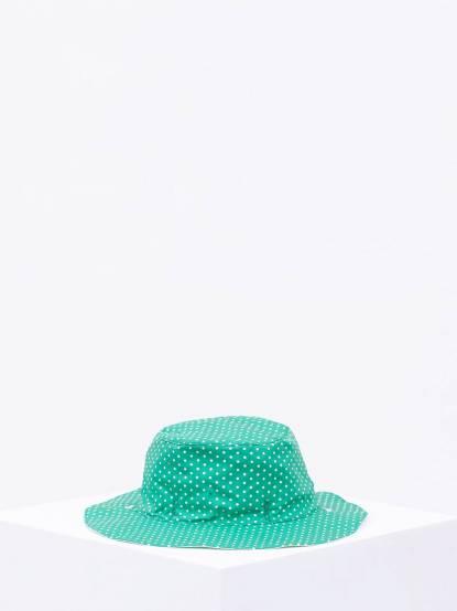 Ki ET LA Kapel 凱貝拉幼兒遮陽帽 - 碧綠點點