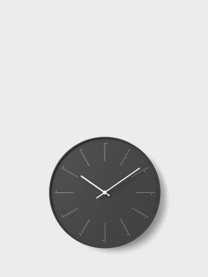 Lemnos 分割時鐘-黑色