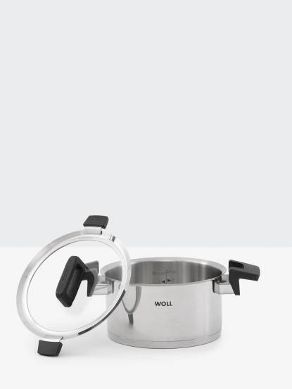 WOLL 不鏽鋼質感湯鍋 - 20cm / 附鍋蓋
