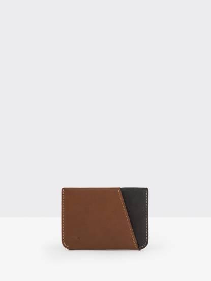 bellroy Micro Sleeve 三卡卡片套 - 駝色