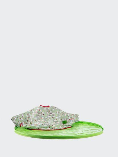 Tidy TOT 圍兜 / 防髒托盤二合一套組 - 青蘋綠