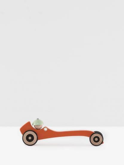 Mon Petit Art 法國木質玩具車 - 橘