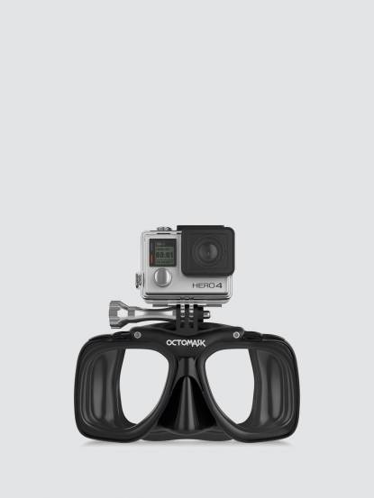 OCTOMASK Dive Mask For GoPro 自由潛水面罩 - 黑