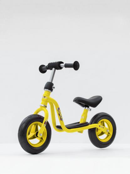 PUKY LR M 兒童平衡滑步車 - 黃色