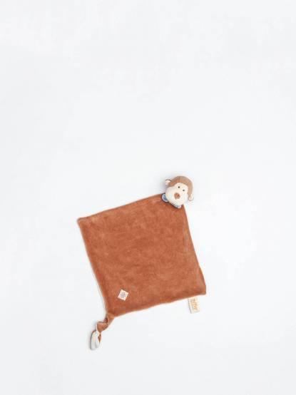 miYim 有機棉安撫巾 - 布布小猴