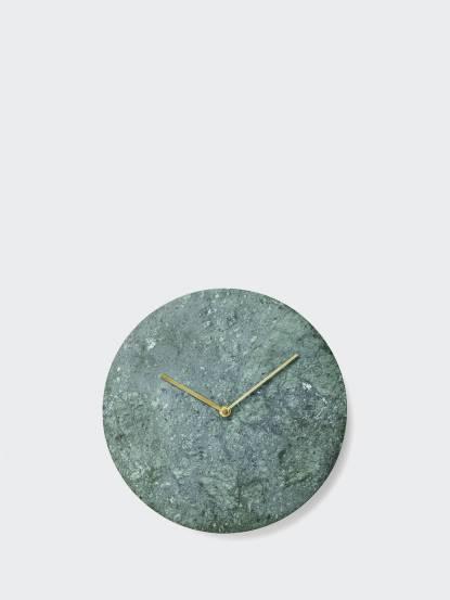 MENU 大理石鐘 - 綠色
