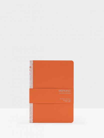 FABRIANO Soft Touch 線條筆記本 - A5 / 橘