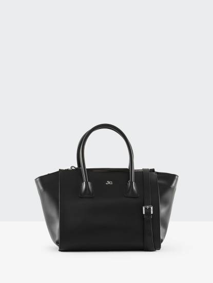SOLO iTALIA J&C 黑色立體手提包