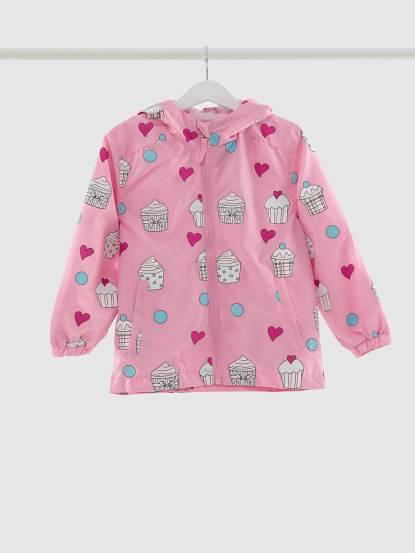 Holly & Beau 神奇變色雨衣 - 粉紅蛋糕