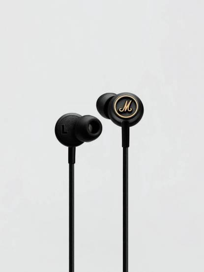 Marshall 英國 Mode  EQ 入耳式麥克風耳機 - 黑銅