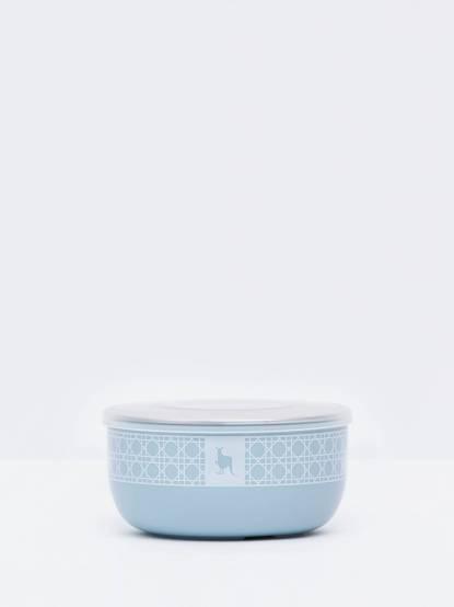 Kangovou 小袋鼠不鏽鋼安全點心碗 - 野莓藍