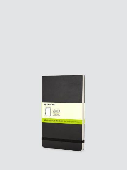 MOLESKINE 記者黑色硬殼筆記本 - 口袋型 / 空白