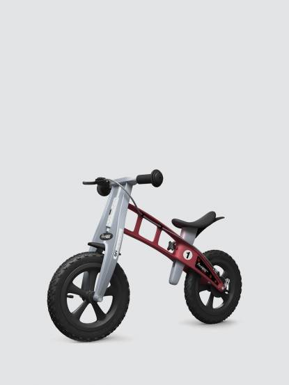 FirstBIKE 兒童滑步車 / 平衡車 - 越野紅 / 附煞車